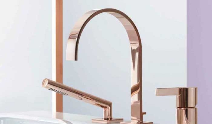 Новое покрытия поверхности смесителей немецкой компания Dornbracht, - Cyprum