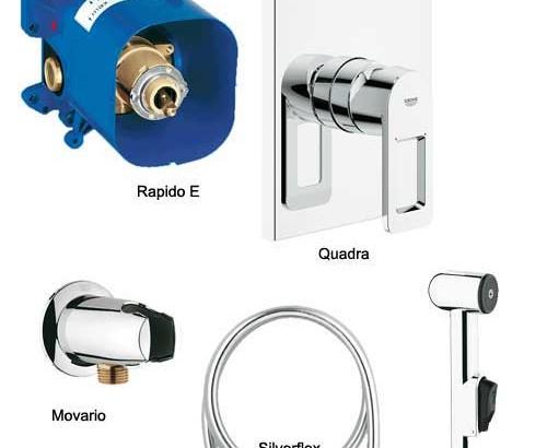 Универсальный смеситель Rapido E 35501000