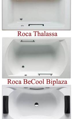 Акриловые ванны Roca на длину 1800