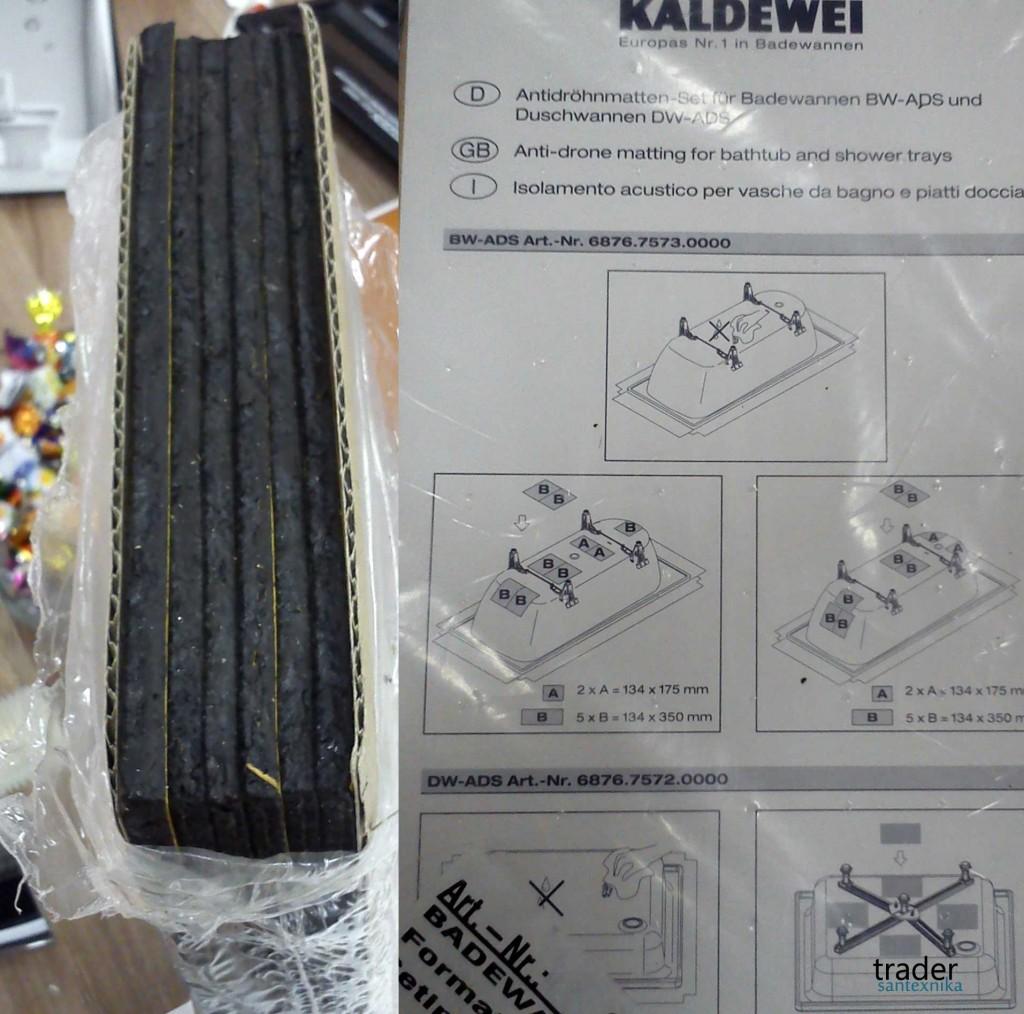 Шумоизоляция Kaldewei