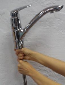 Смеситель для кухни на две воды Grohe Eurodisc 33334001
