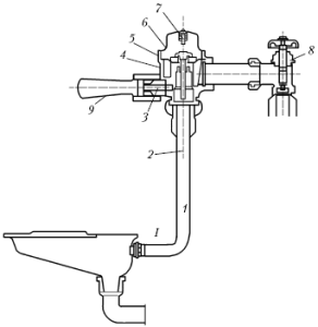 Общая монтажная схема подключения к чаше Генуя