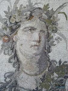 Портретная мозаика Рим, 2-й век