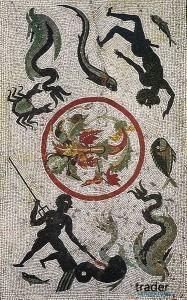 Римская мозаика, Помпеи
