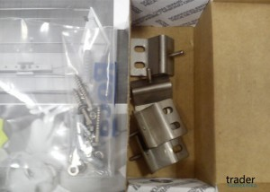 Фото угловых креплений для гидромассажной колонки - 2H0349000