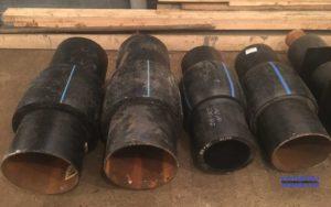 Неразъемные соединения (переходы) ПЭ-сталь